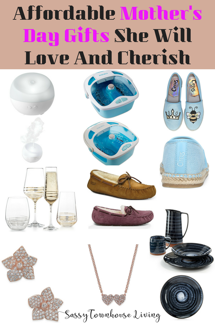 Affordable Mother's Day Gifts She Will Love And Cherish - Sassy Townhouse Living