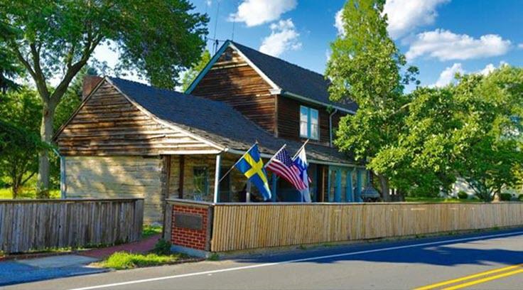 oldest log cabin historic home