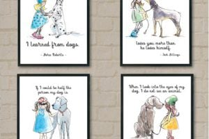 dog lover free printables