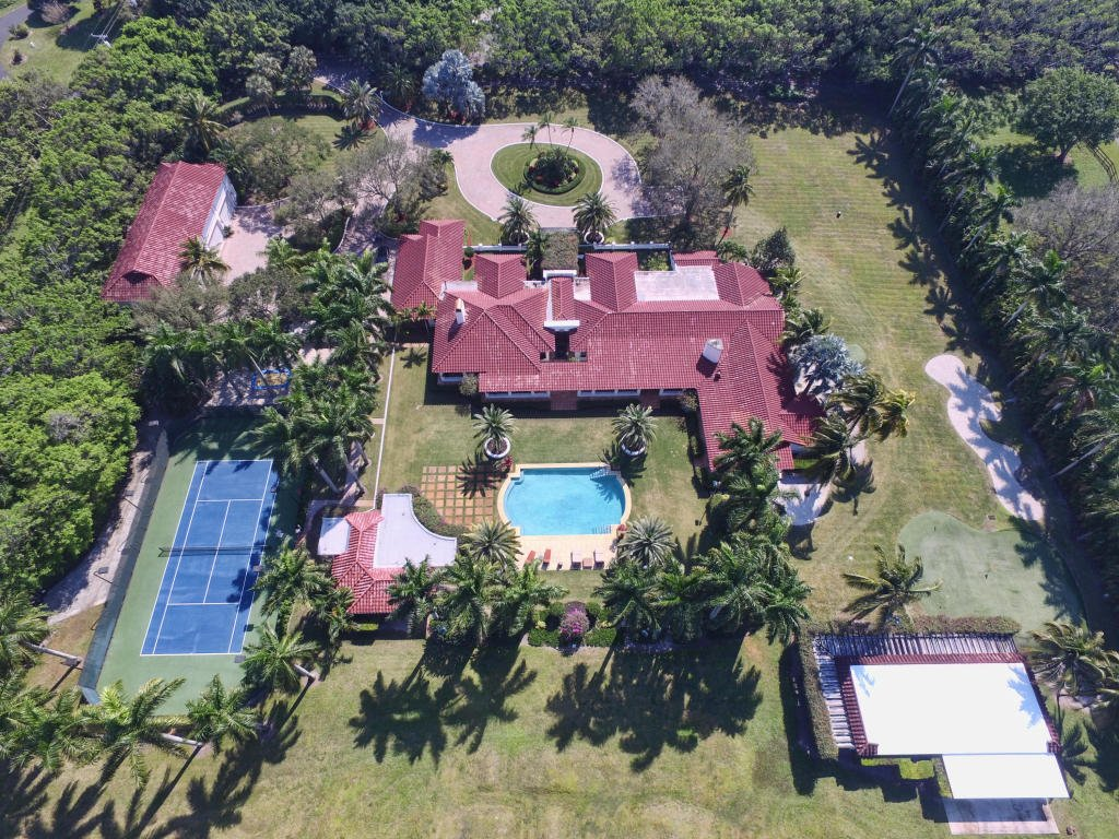 Chris Evert's Florida Tennis Home