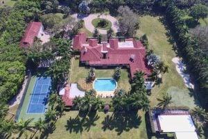 Chris Evert's Florida Tennis Home