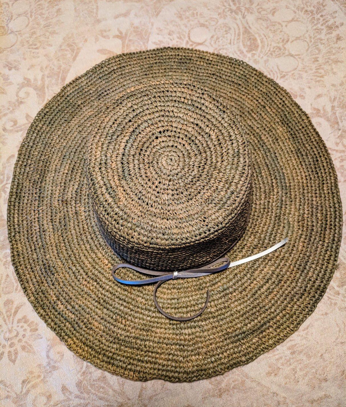wearing hats