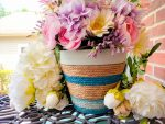 Make A Colorful Jute Wrapped Flowerpot – Easy & Beautiful!