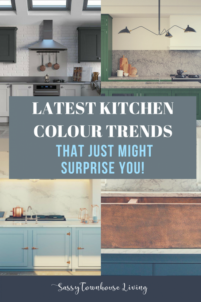 Latest Kitchen Colour Trends That Just Might Surprise You - Sassy Townhouse Living