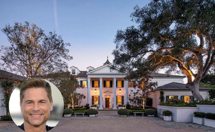 Rob Lowe California Estate