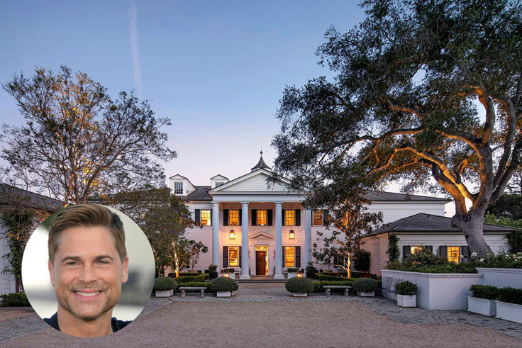 Rob Lowe Has A Dreamy California Estate & You Need To See It!