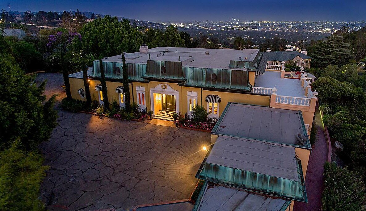 Zsa Zsa Gabor Elvis Presley Luxury Estate