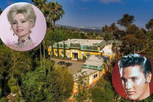 Zsa Zsa Gabor & Elvis Presley Both Lived In This Luxury Estate 9