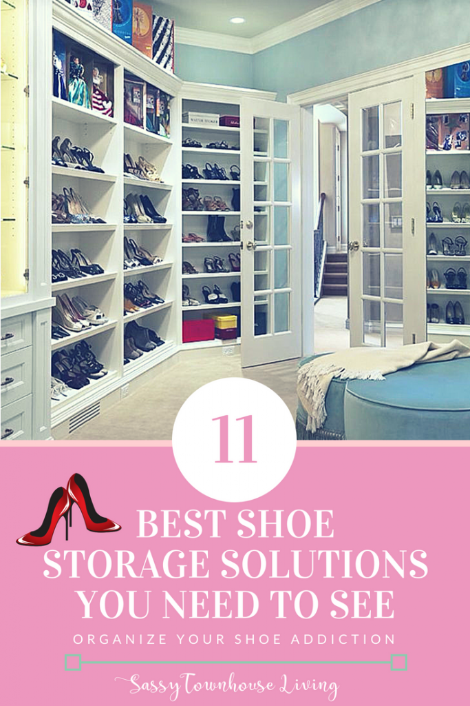 11 Best Shoe Storage Solutions You Need To See_Sassy Townhouse Living