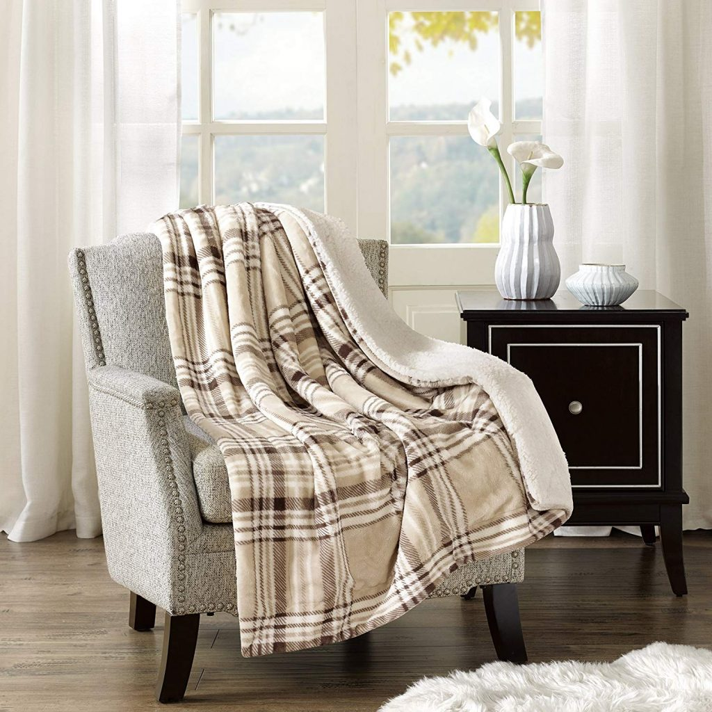 plaid decor