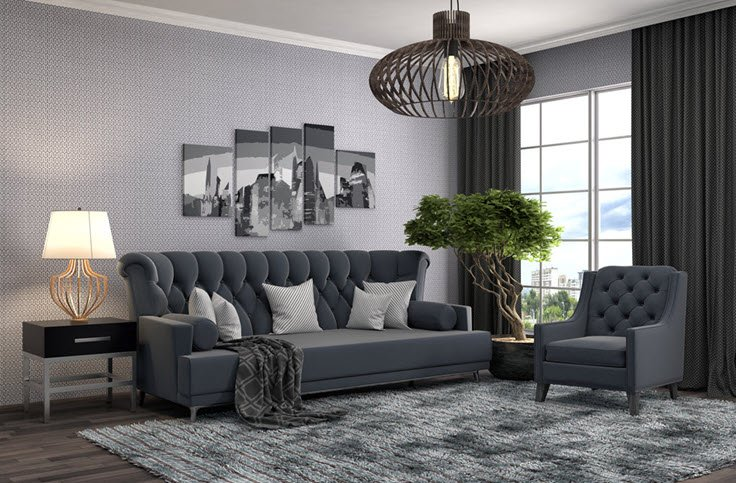 13 Design Tips To Make Your Small Living Room Look Larger