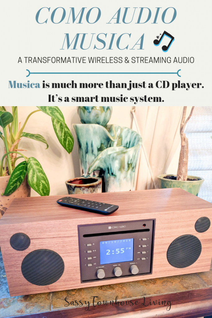 Como Audio Musica - A Transformative Wireless & Streaming Audio System - Sassy Townhouse Living