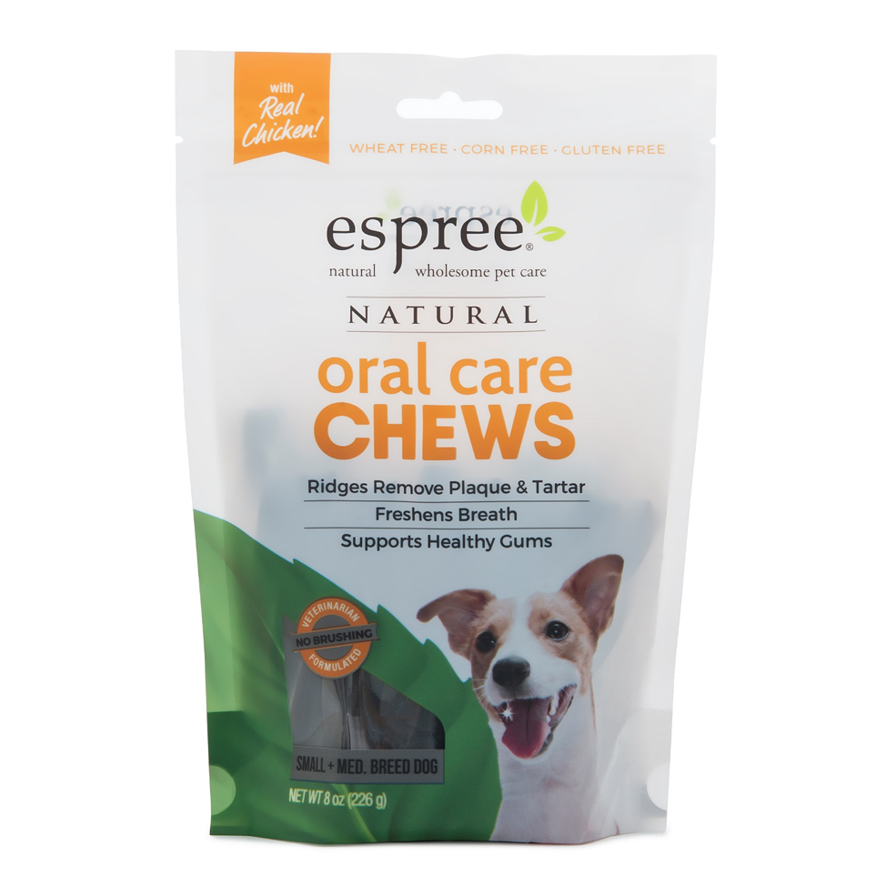 Espree Natural Oral Care Gel dog