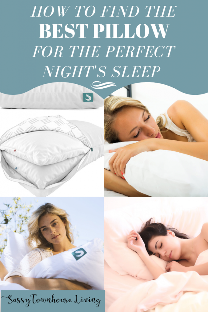How To Find The Best Pillow For The Perfect Night's Sleep - Sassy Townhouse Living