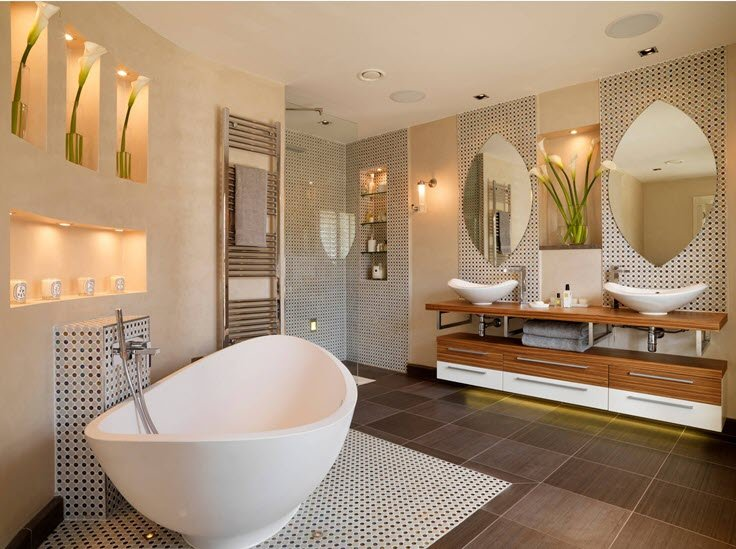 10 Upscale Luxurious Bathrooms – Inspiring Decorating Ideas