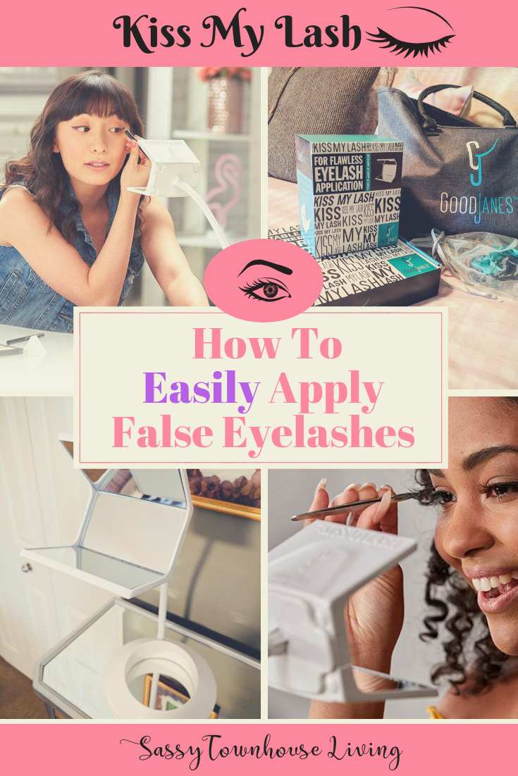 Kiss My Lash - How To Easily Apply False Eyelashes - Sassy Townhouse Living