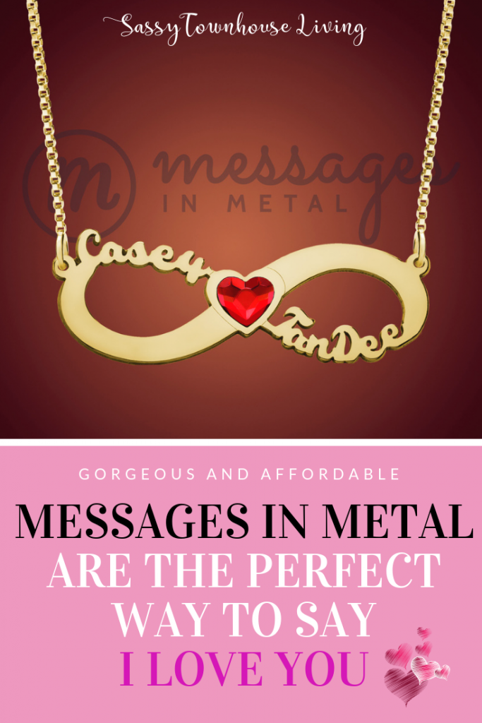 Messages In Metal Are The Perfect Way To Say I Love You - Sassy Townhouse Living