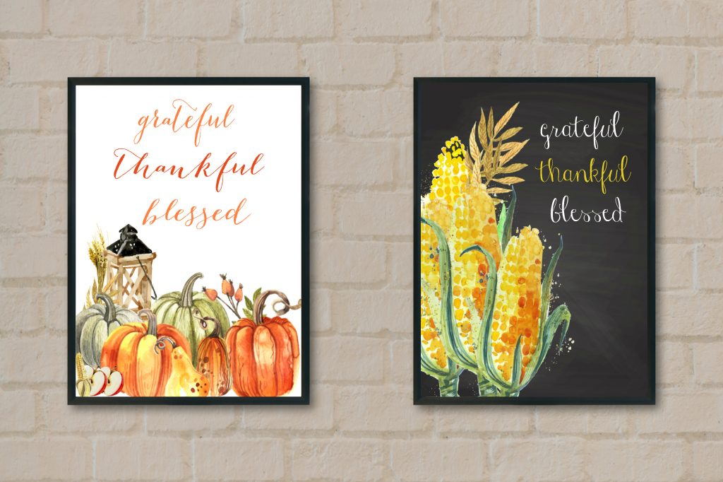 Fall Printables Home Decor