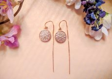 threader Earrings Cecelia Designs