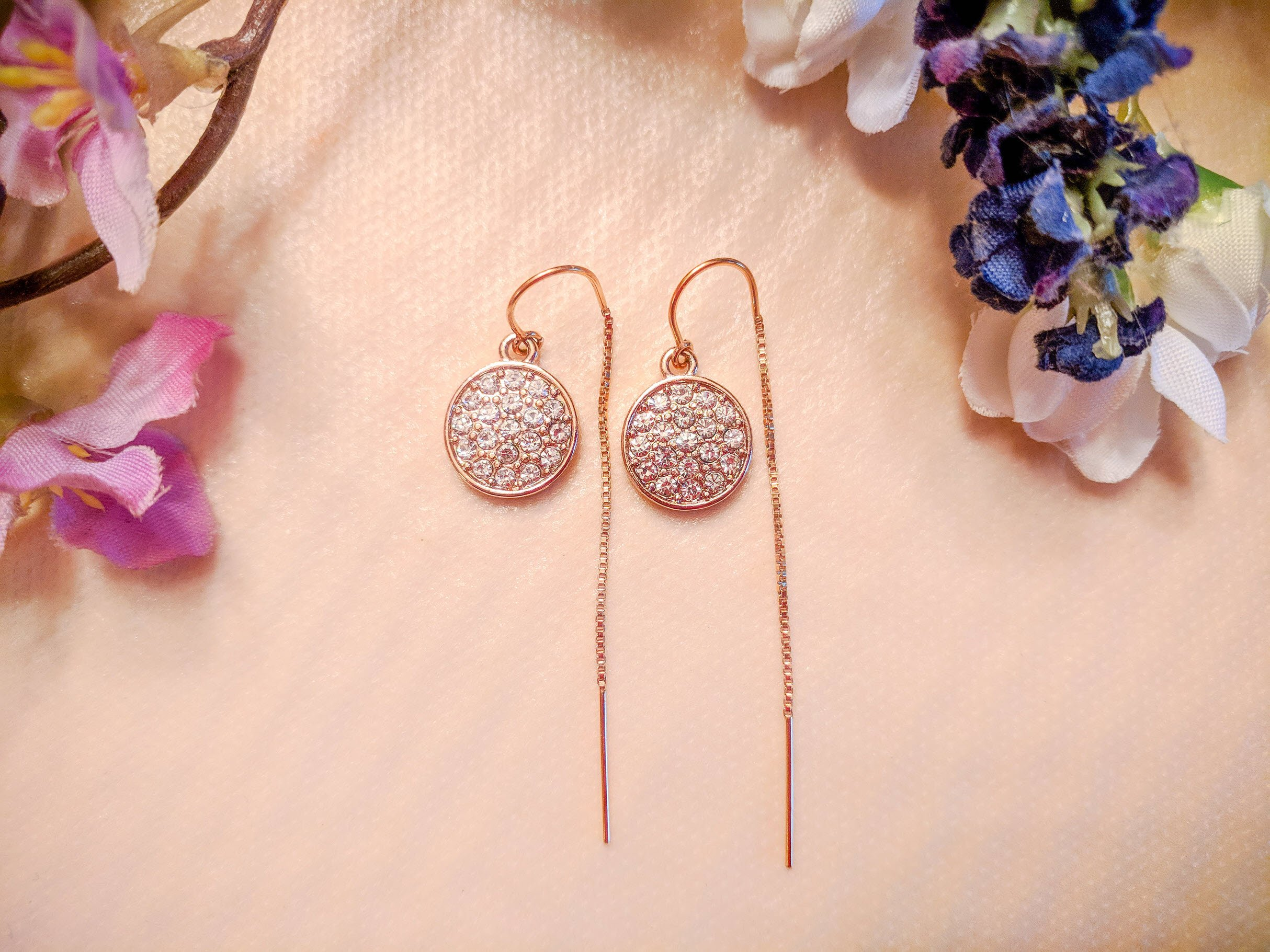My Latest Earring Obsession – Threader Earrings By Cecelia Designs