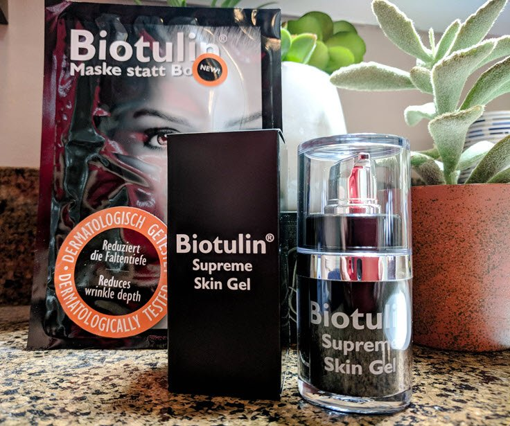 Say Hello To Biotulin Supreme Skin Gel & Goodbye To Botox!