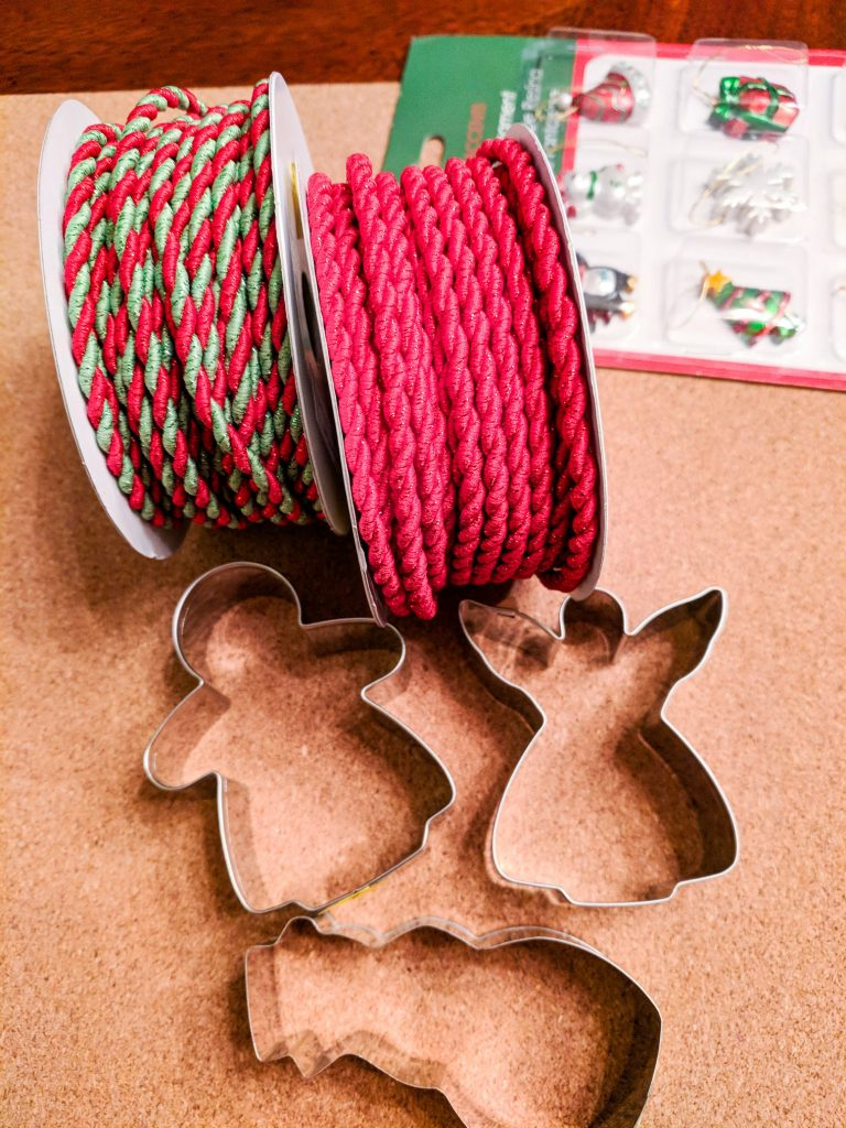 Cookie Cutter Christmas Ornaments