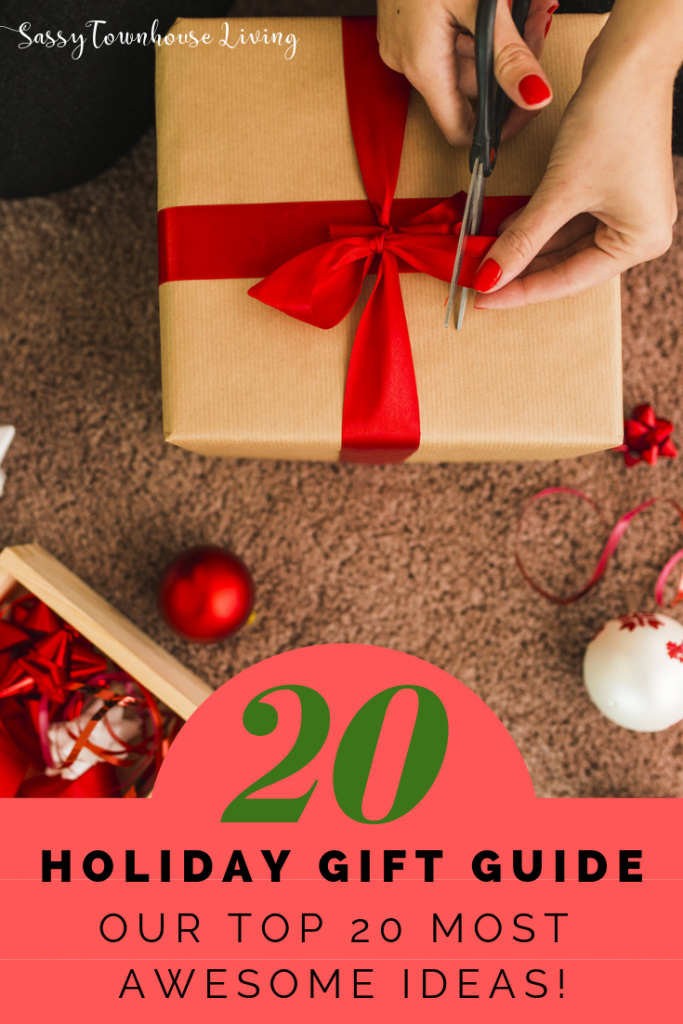Holiday Gift Guide - Our Top 20 Most Awesome Ideas - Sassy Townhouse Living
