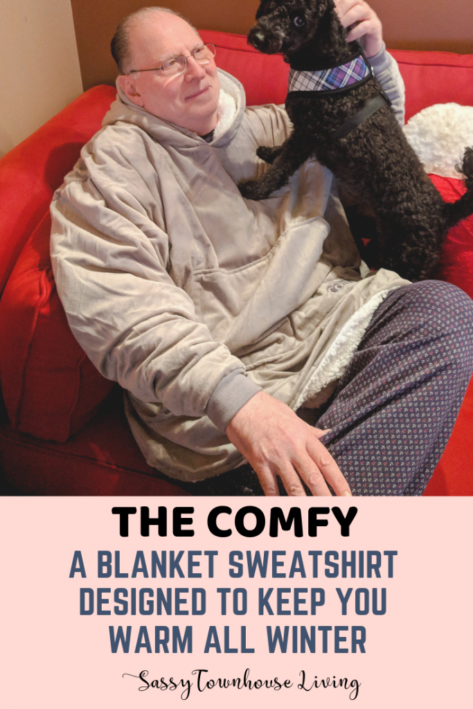 The Comfy - A Blanket Sweatshirt Designed To Keep You Warm All Winter - Sassy Townhouse Living