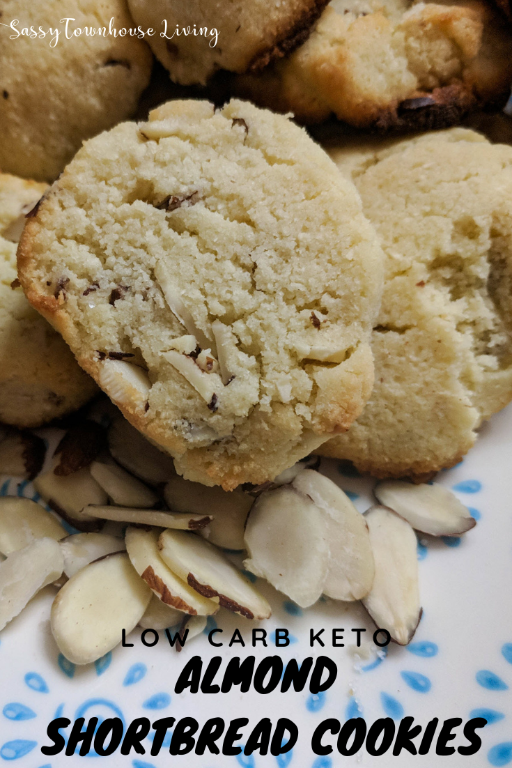 Low Carb Keto Almond Shortbread Cookies - Simply Delicious! - Sassy Townhouse Living