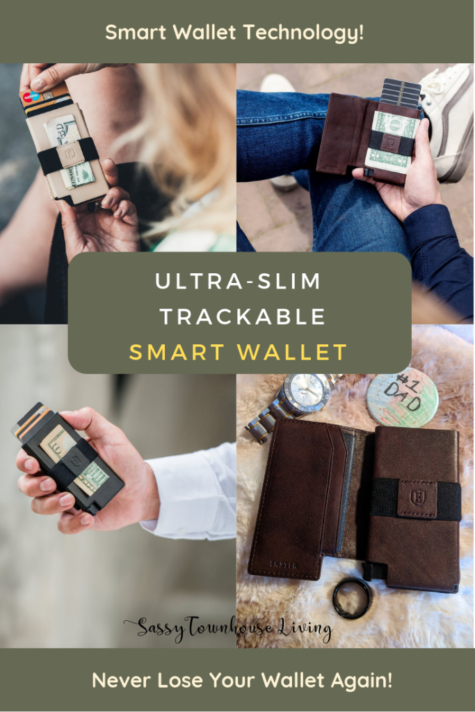The Perfect Holiday Gift! Ultra-Slim Trackable Smart Wallet - Sassy Townhouse Living
