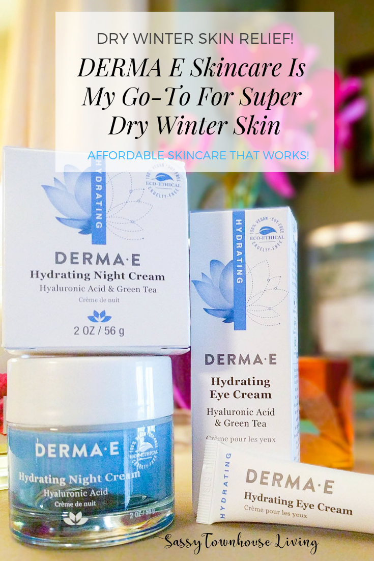 DERMA E Skincare Is My Go-To For Super Dry Winter Skin - Sassy Townhouse Living
