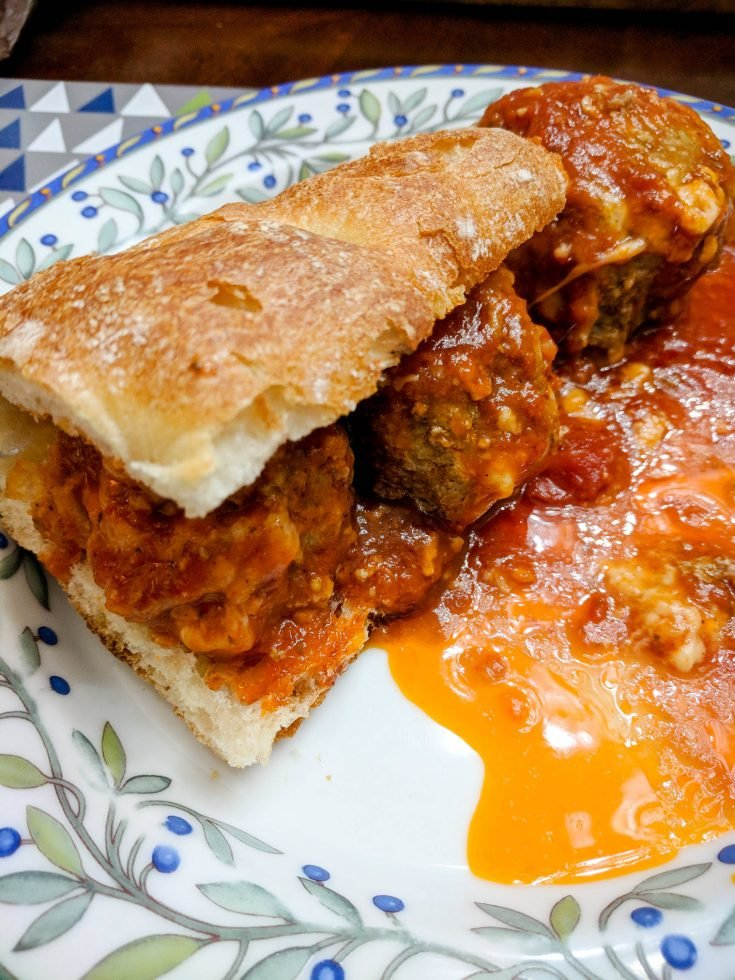 Meatball Parmigiana - The Best You'll Ever Eat!