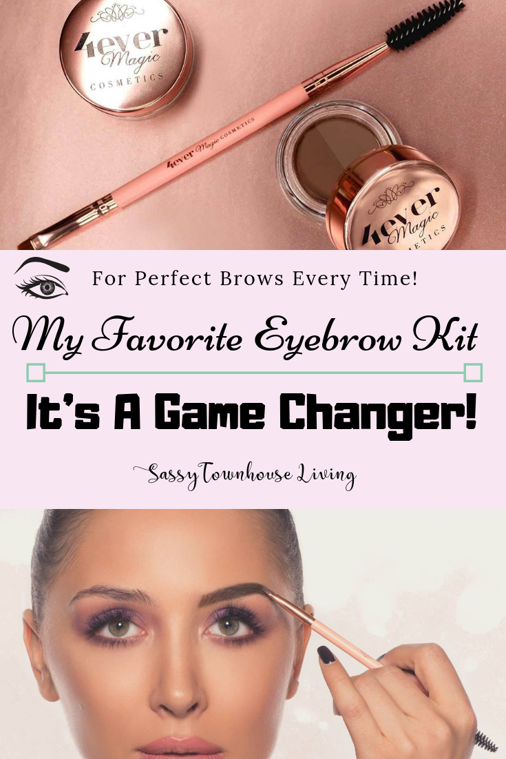My Favorite Eyebrow Kit - It's Game Changer! Sassy Townhouse Living