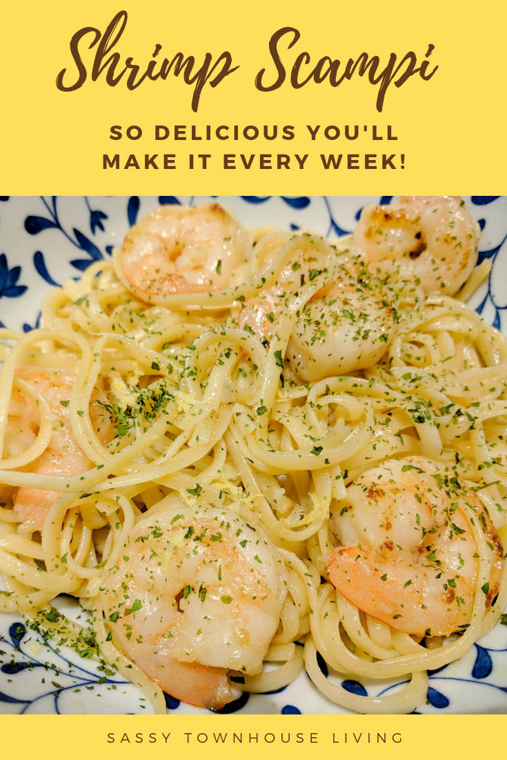 Shrimp Scampi - So Delicious You Make It Every Week!_Sassy Townhouse Living