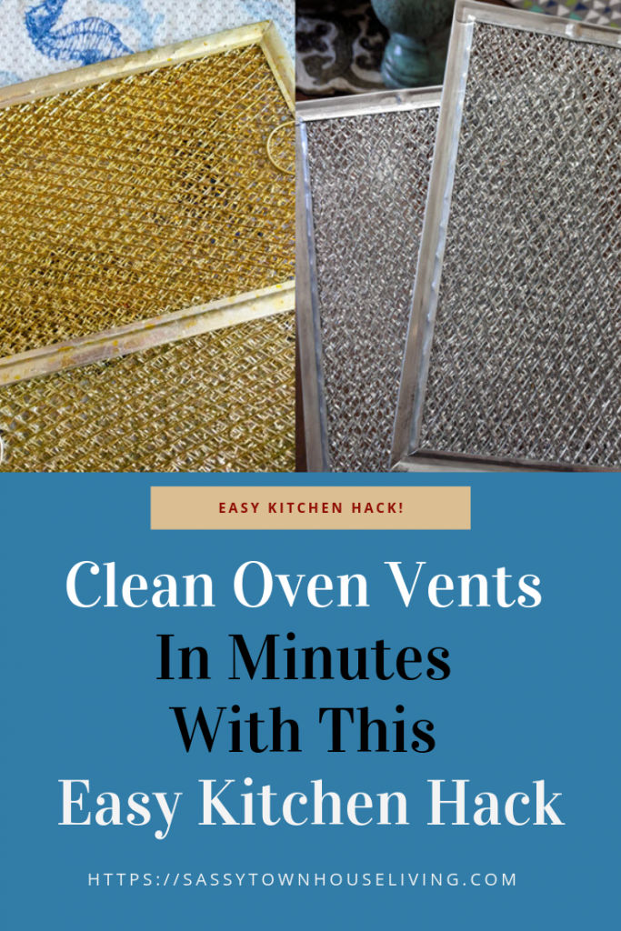 Clean Vents In Minutes With This Easy Kitchen Hack - Sassy Townhouse Living