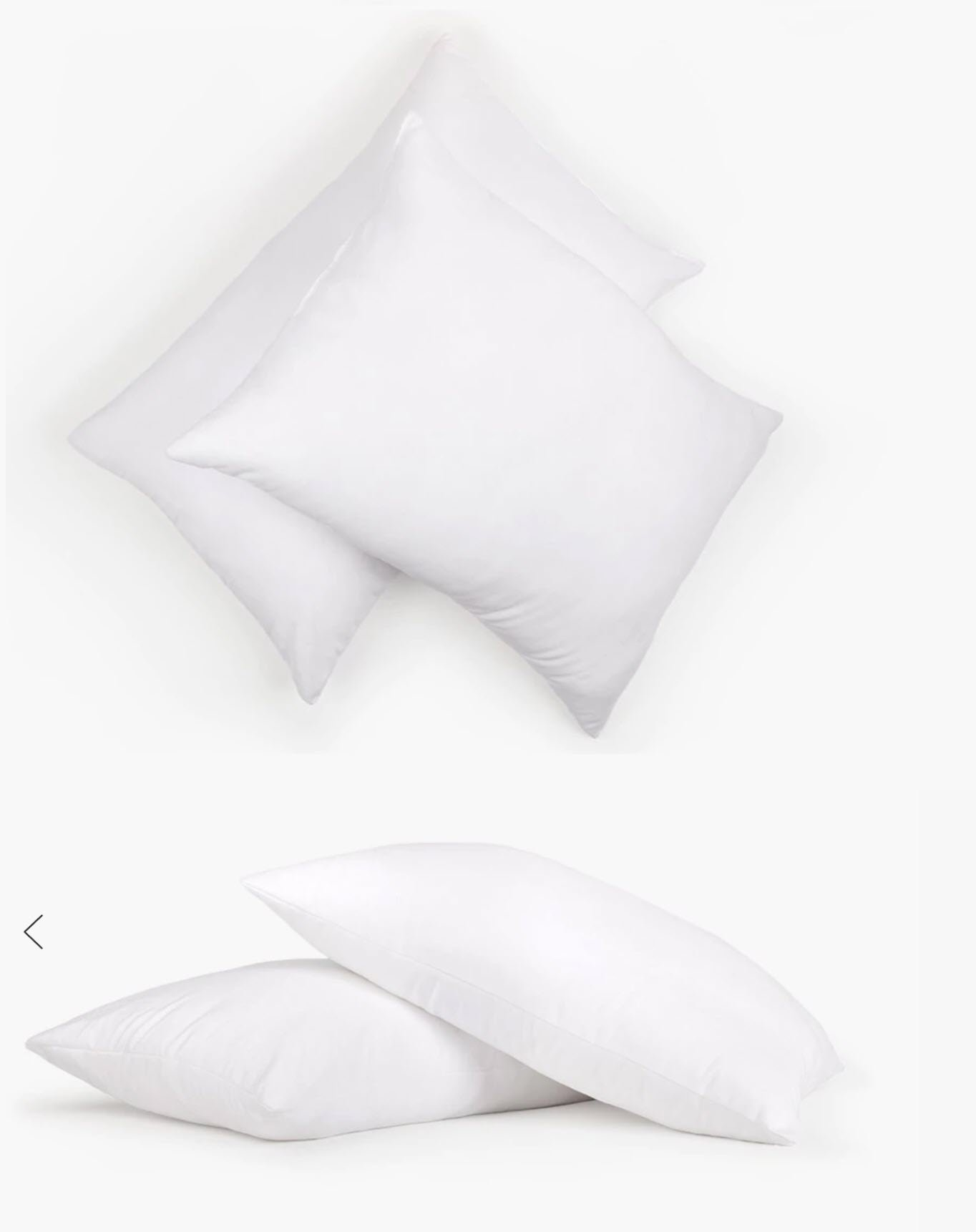 Better Night's Sleep Goldilocks-Zone Pillows