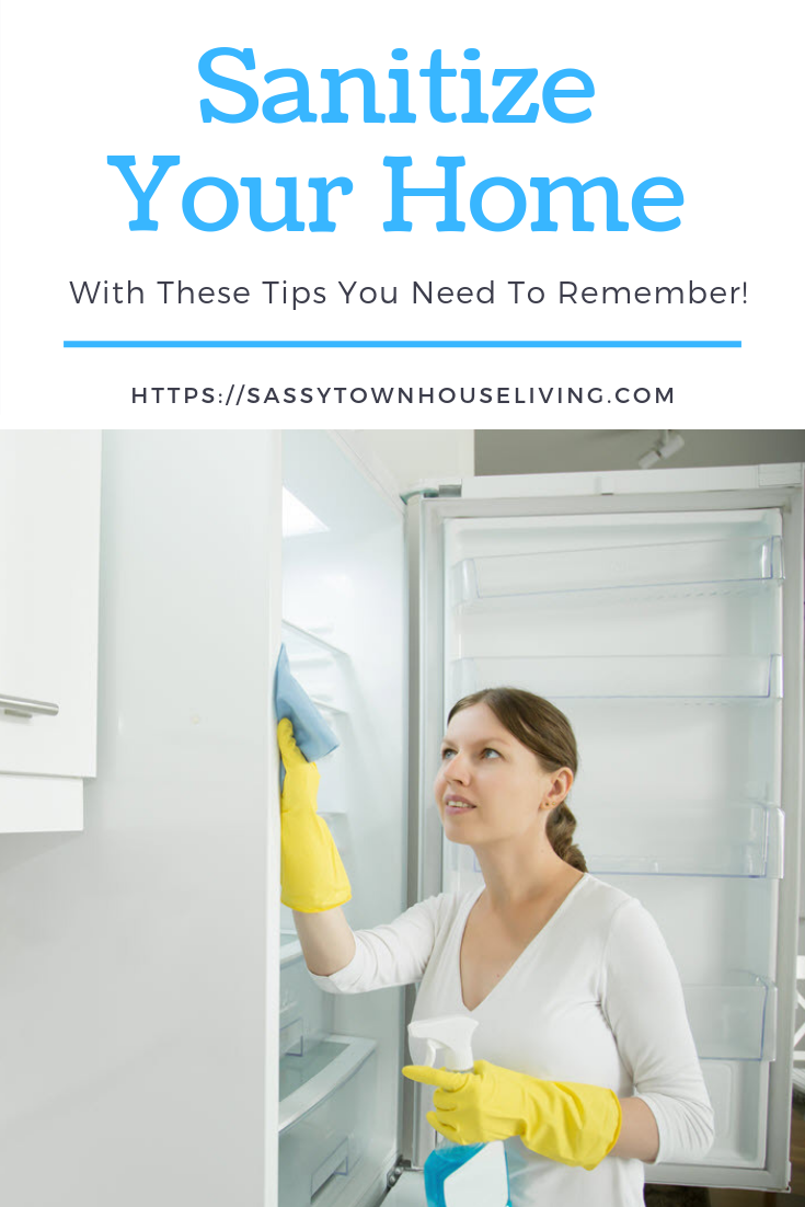 Sanitize Your Home With These Tips You Need To Remember - Sassy Townhouse Living