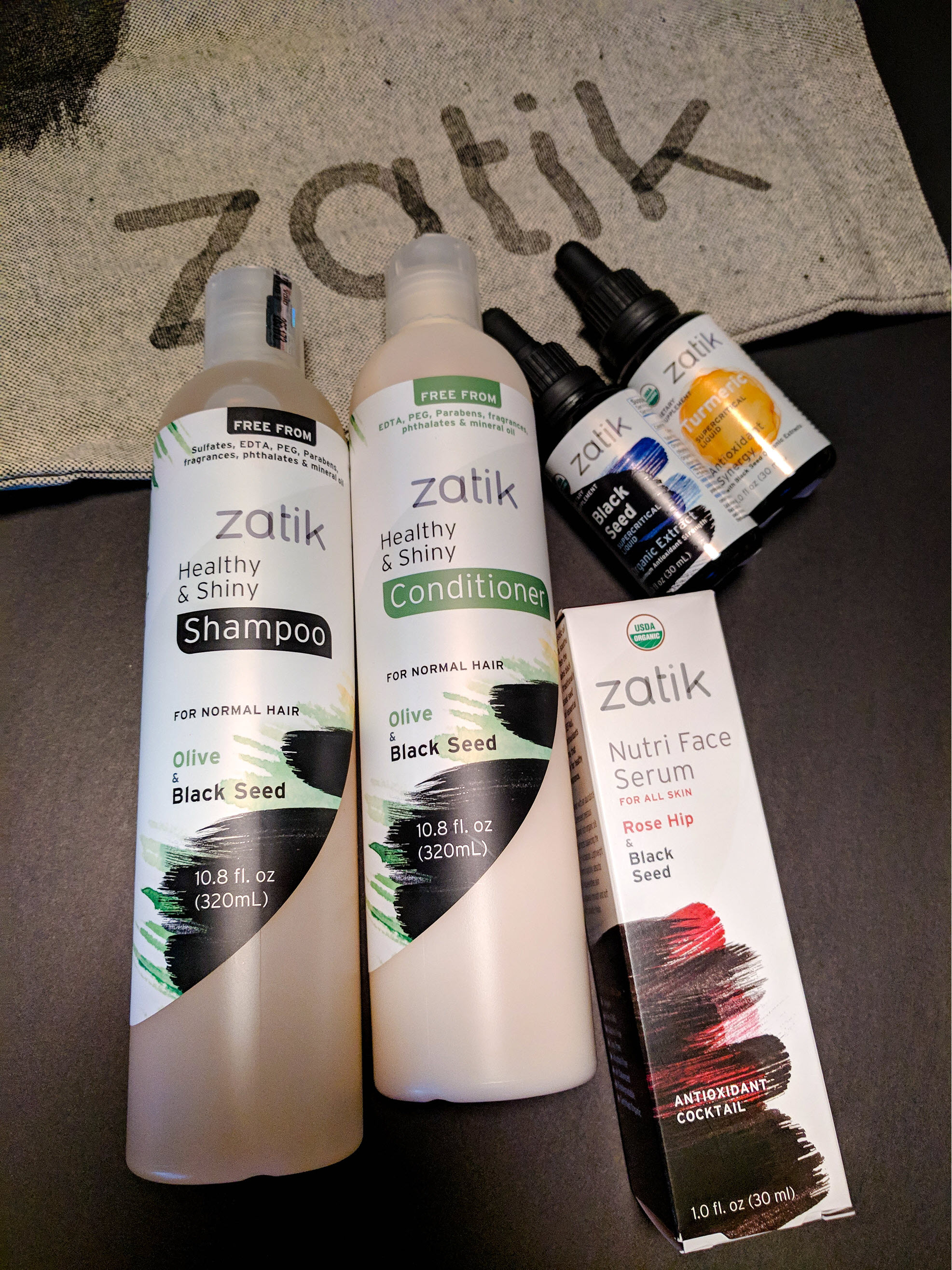 Zatik Naturals Feel Good Look Good