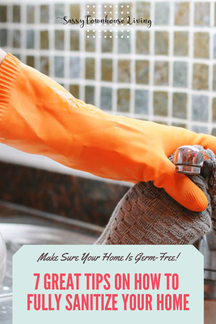 7 Great Tips On How To Fully Sanitize Your Home - Sassy Townhouse Living