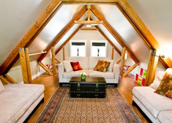 Unused Attic Living Space