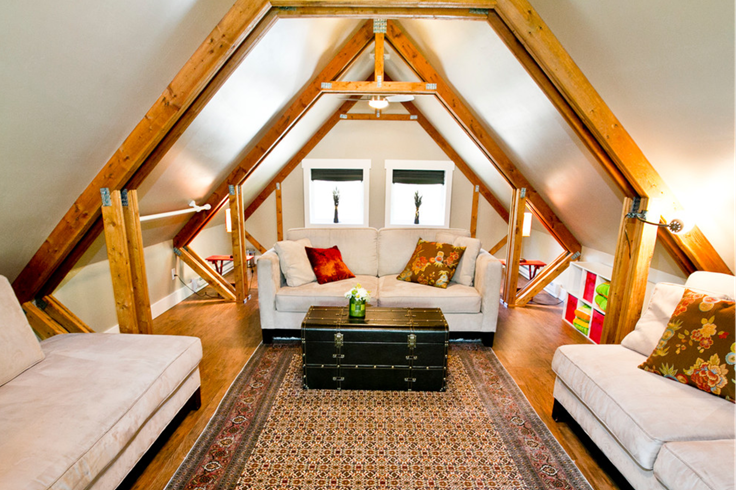 How To Convert Your Unused Attic Into Functional Living Space