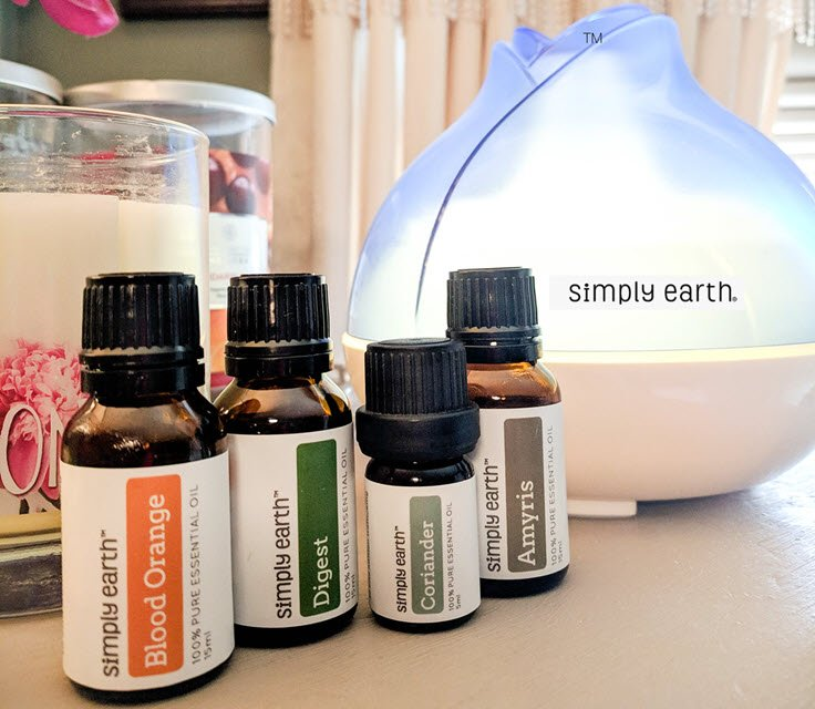 Simply Earth Essential Oils Recipe Box – Make Your Home All Natural!