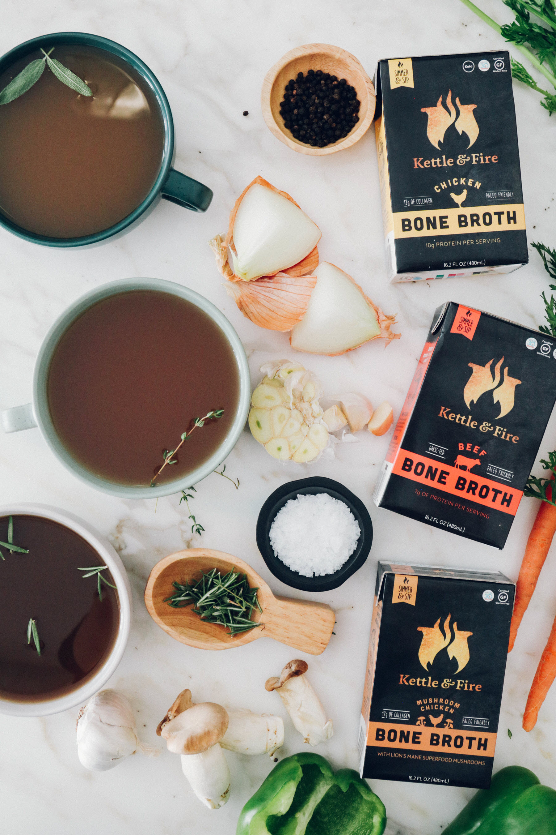 New Products Shopping Guide Kettle and Fire bone broth