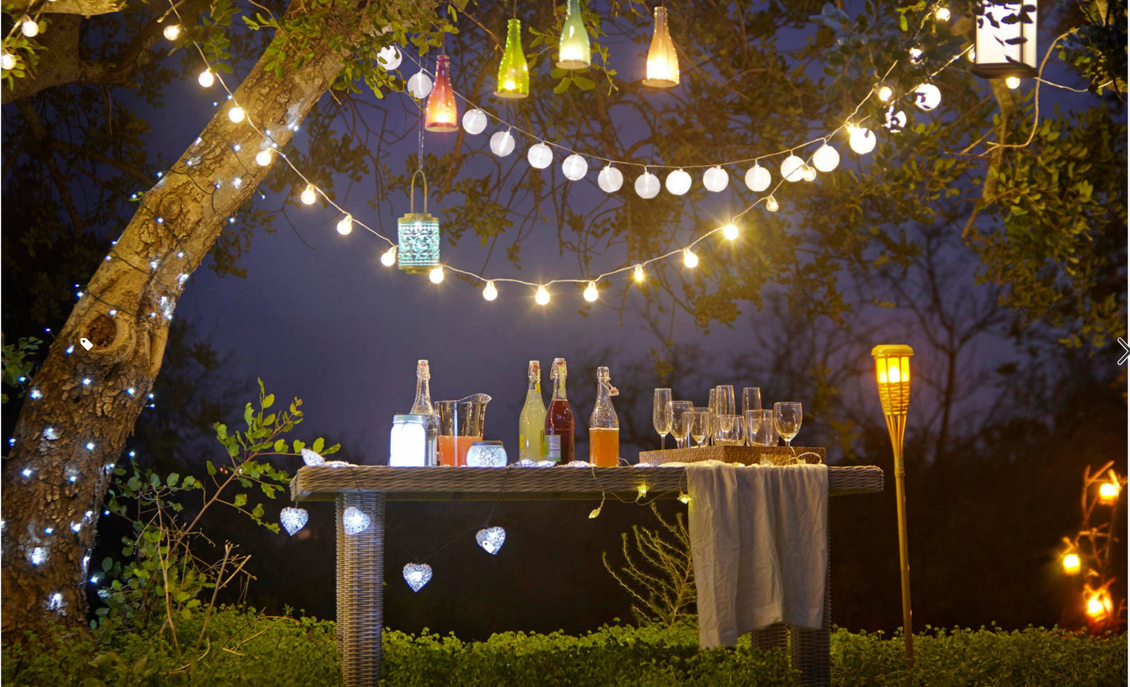 decorating with outdoor lighting