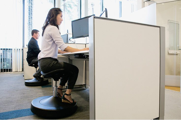 How To Get Fit While Sitting In Your Chair – Balanced Active Sitting