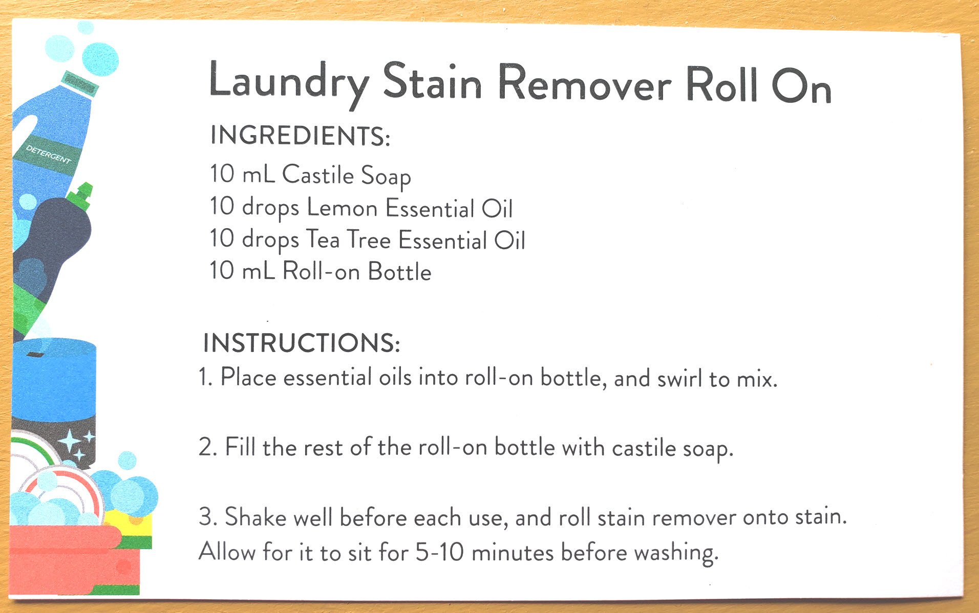 All-Natural Stain Remover Roll On
