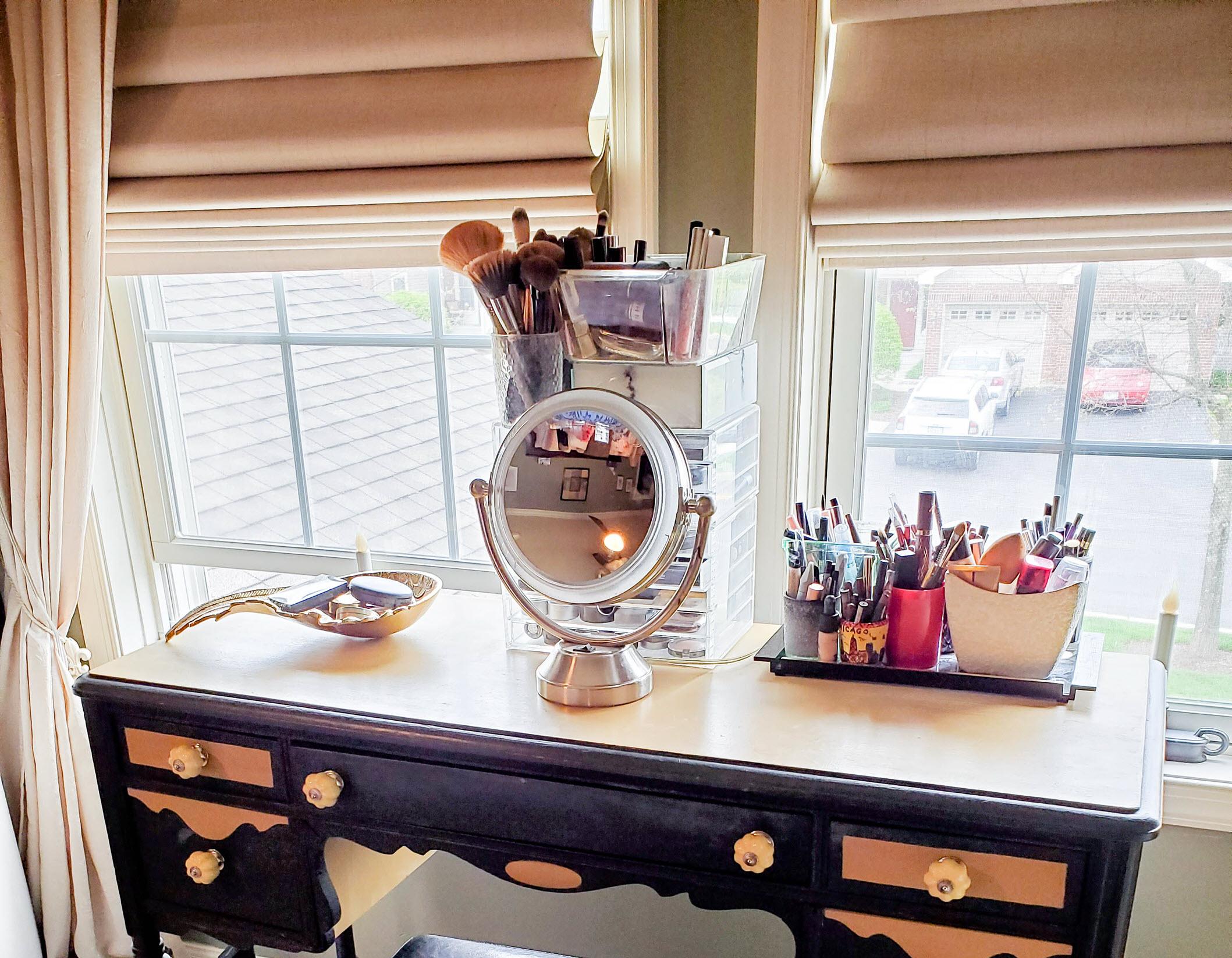 old makeup vanity