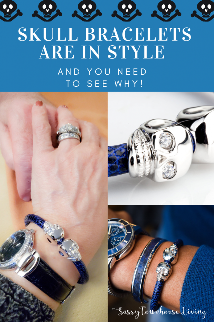 Skull Bracelets Are In Style And You Need To See Why! Sassy Townhouse Living