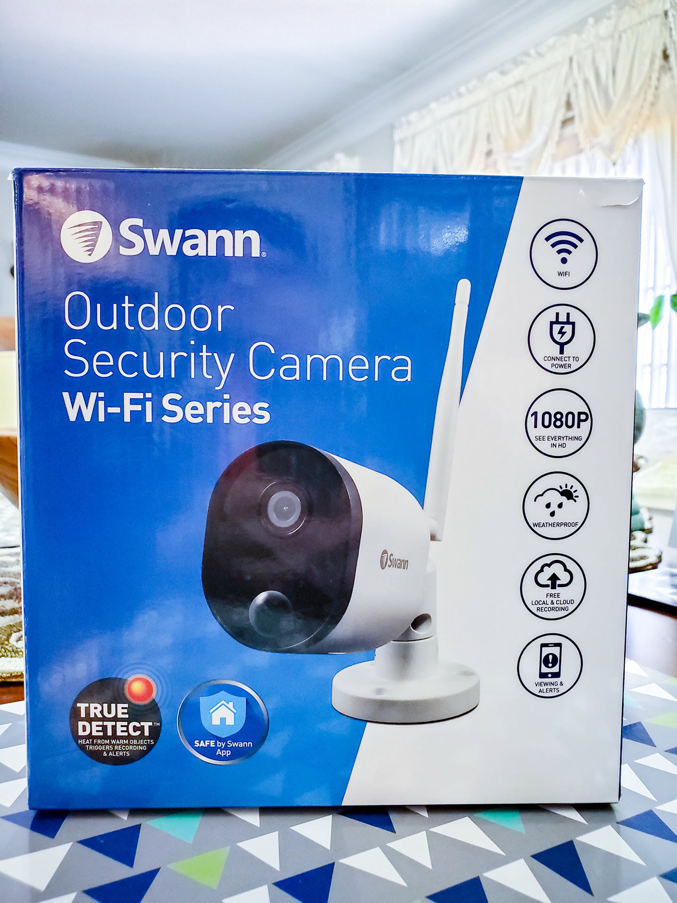 Swann 1080p Wi-Fi Outdoor Security Camera