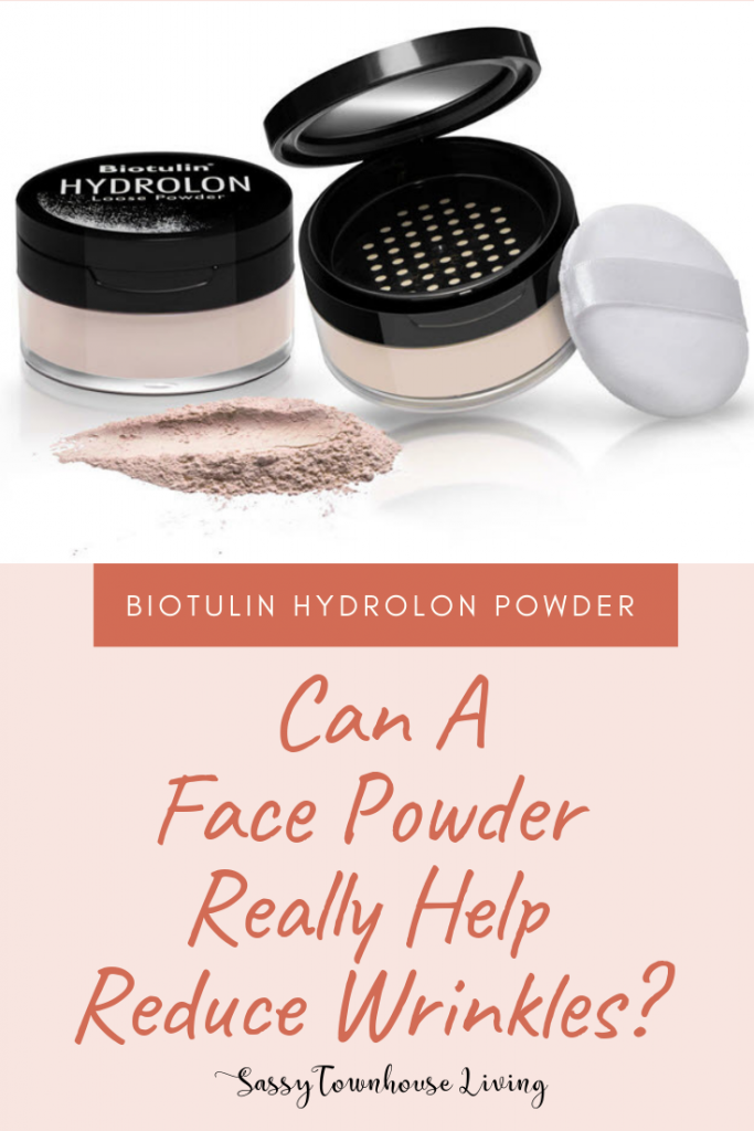Can A Face Powder Really Help Reduce Wrinkles -Biotulin Hydrolon Powder